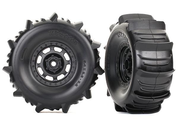 Traxxas Reifen auf Felge montiert BFGoodrich Paddle Reifen