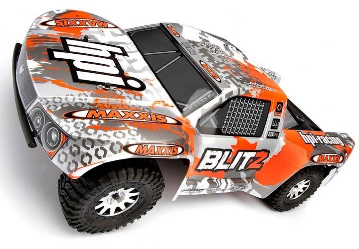 HPI Blitz Short Course Truck 2.4GHz RTR 1:10