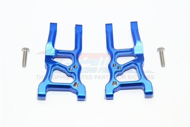 GPM aluminium front suspension arms - 4PC Set for Traxxas