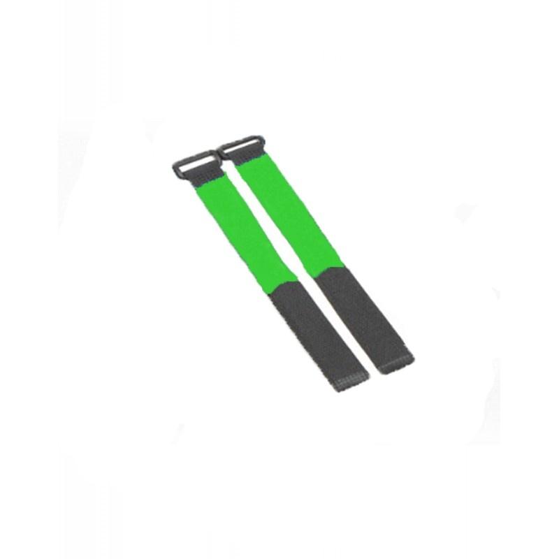 Flexytub Klettband Nylon 27cm x2cm grün (2 Stück)