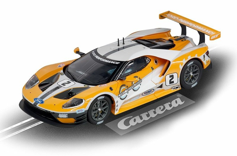 Carrera Digital 132 Ford GT Race Car No.02