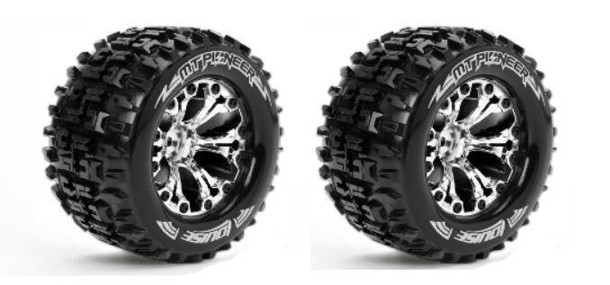 Louise RC MT-PIONEER MTruck Reifen 1:10-Fertig Verklebt-Soft