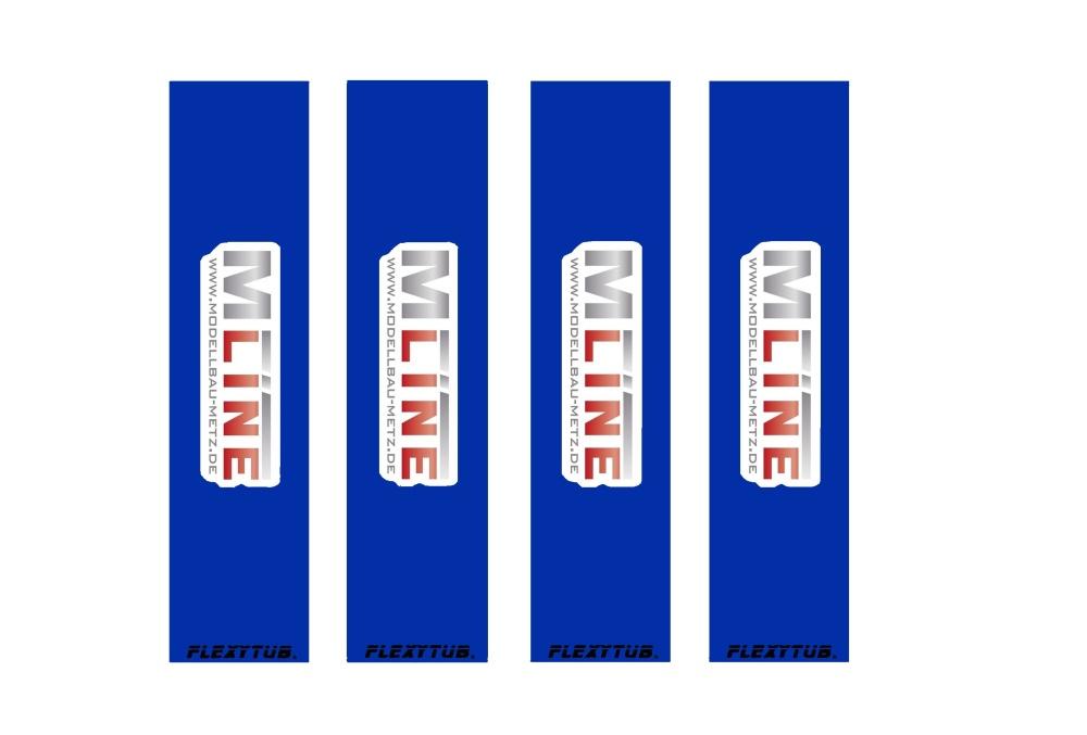 Flexytub/MLine Dämpfersocken/Dustcover für Maßstab 1/10