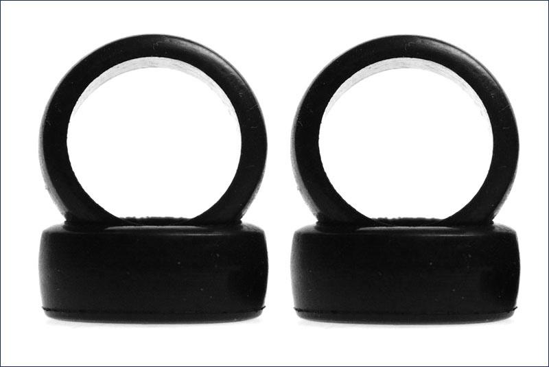Kyosho Reifen-Set # 1:24 Slick 8,5mm hart, 4 Stück