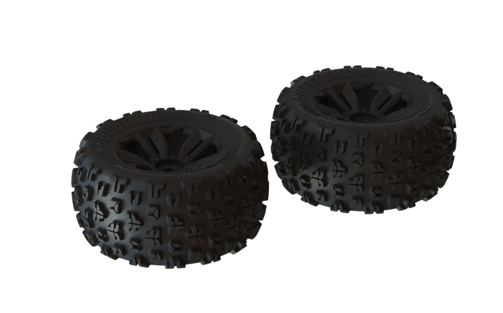 Arrma RC DBoots Copperhead2 MT Reifenset verklebt