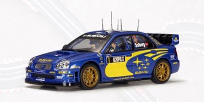 AutoArt Subaru New Age Impreza WRC 04 Solberg/Mills Rallye