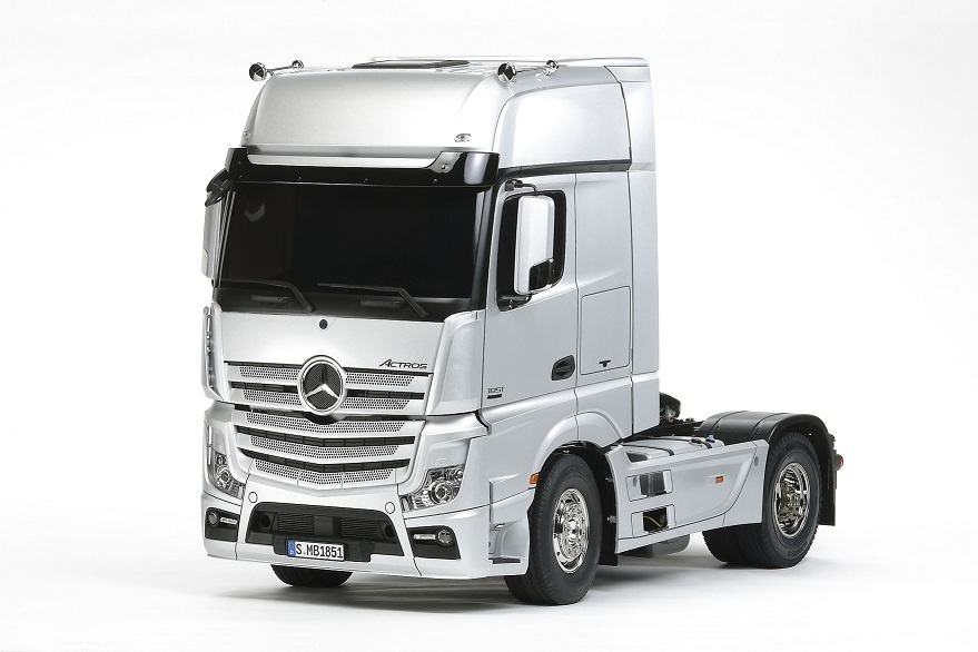Tamiya RC Mercedes Benz Actros 1851 Giga Space 1:14