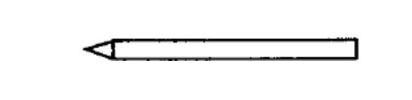 Lötspitze 5 mm longlife, Bleistiftform
