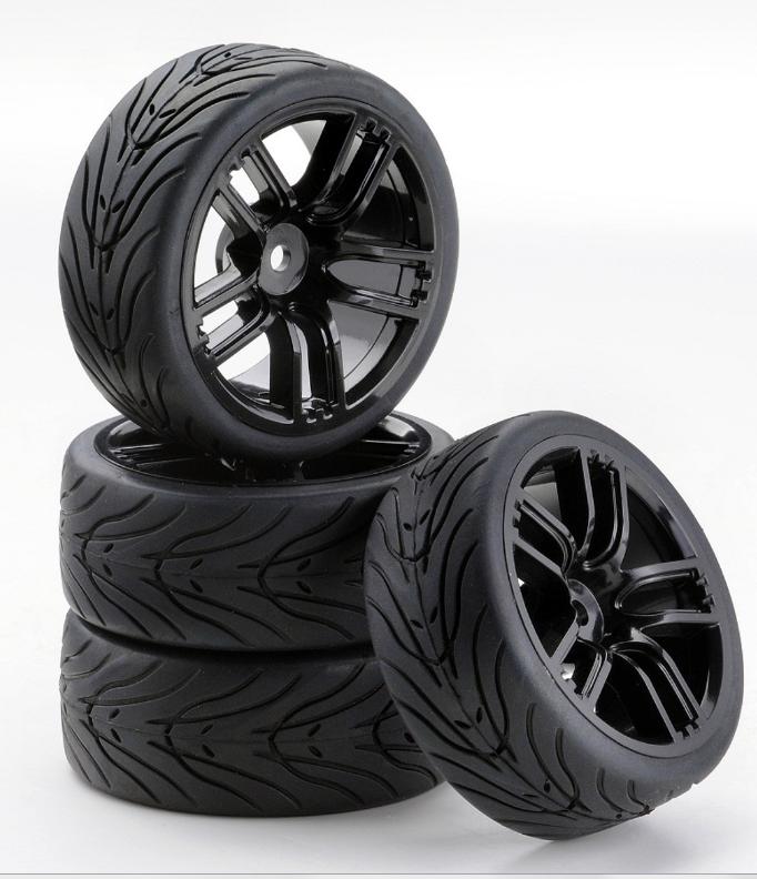 Carson SC-Räder GT Style schwarz, 4 Stück