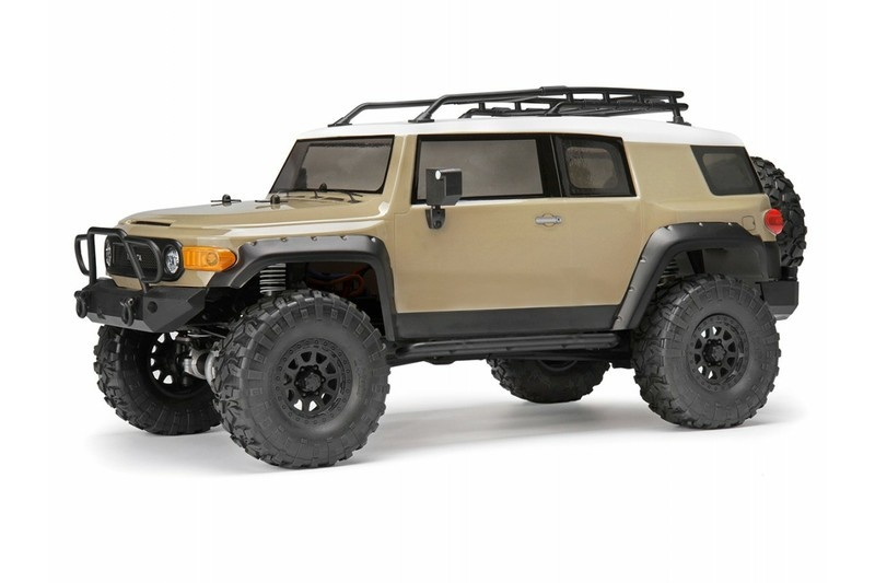 HPI Venture Toyota FJ Cruiser Sandstorm 4WD Scale Crawler