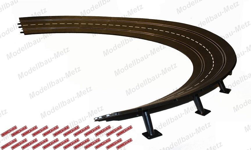 Carrera Evol./Excl./Pro-x/D 132 12x Steilkurve 4/15 Grad