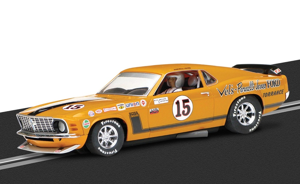 Scalextric Ford Mustang Boss 302 1969 #15 HD