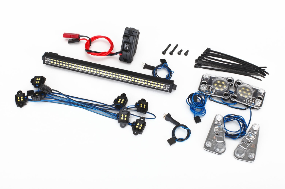 Traxxas LED Ligthbar KIT (RIGID)/Power Supply, TRX-4