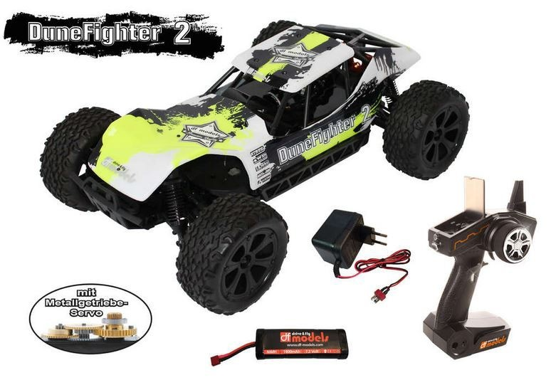 DF-Models Dune Fighter 2 4WD Buggy brushed 2.4GHz RTR 1:10