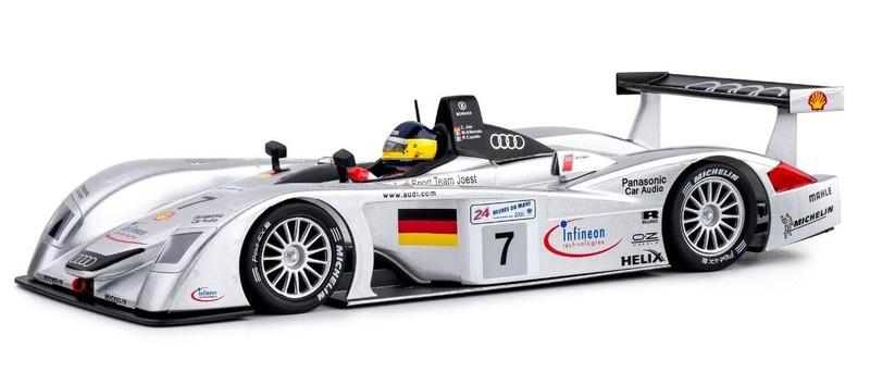 Slot.it Audi R8 LMP - No.7 - Le Mans 2000