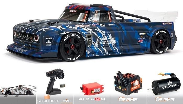 Arrma Infraction 6S BLX Street Bash 1/7 All-Road Resto-Mod
