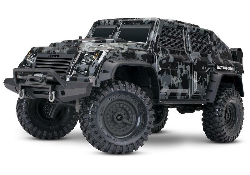 Traxxas TRX-4 TACTICAL (Military-Look) Crawler TQi2.4GHz