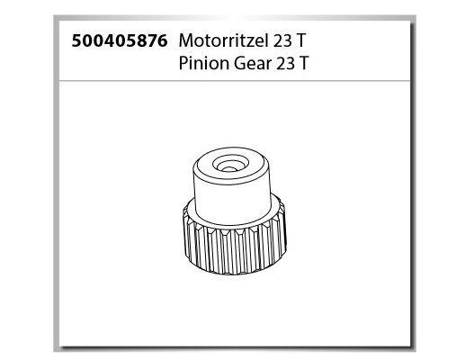 Carson Motorritzel 23 T X10 Dirt Warrior Sport 2.0