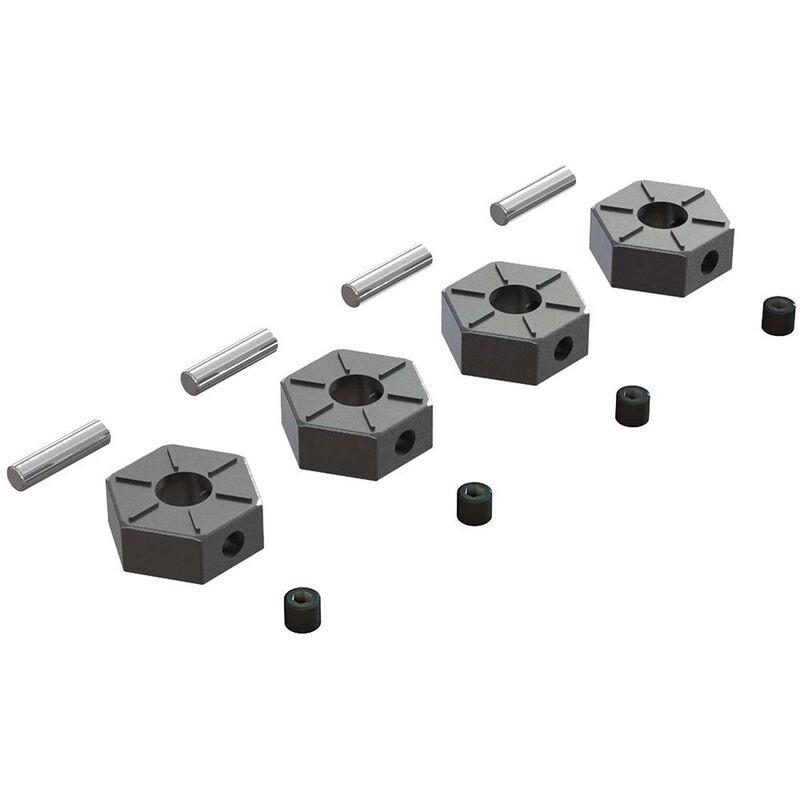 Arrma Wheel Hex Metal 12mm (4) ARAC9473