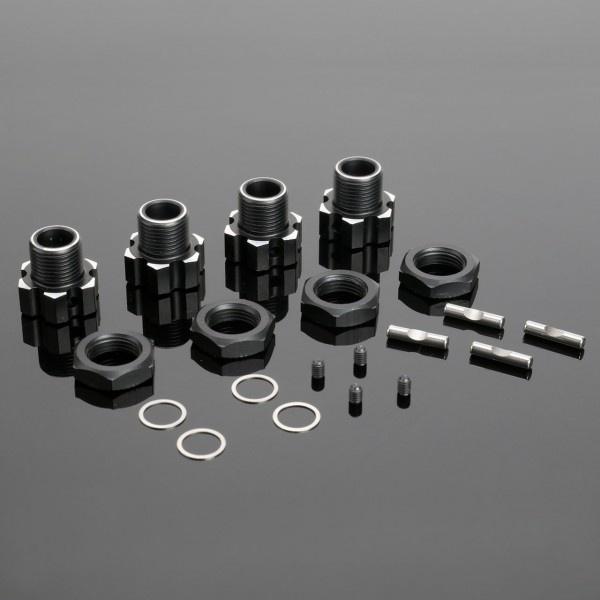 CEN Radmitnehmer Set 17mm Aluminium