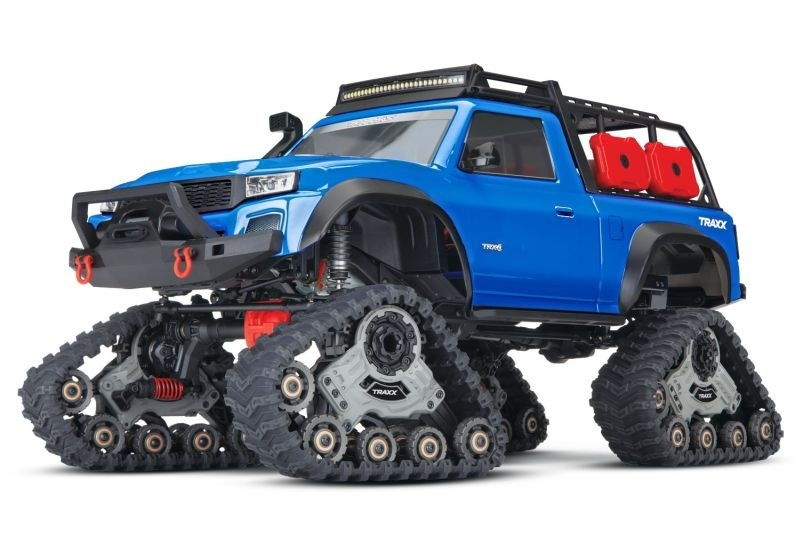 Traxxas TRX-4 mit All-Terrain Traxx blau 4WD Scale-Crawler