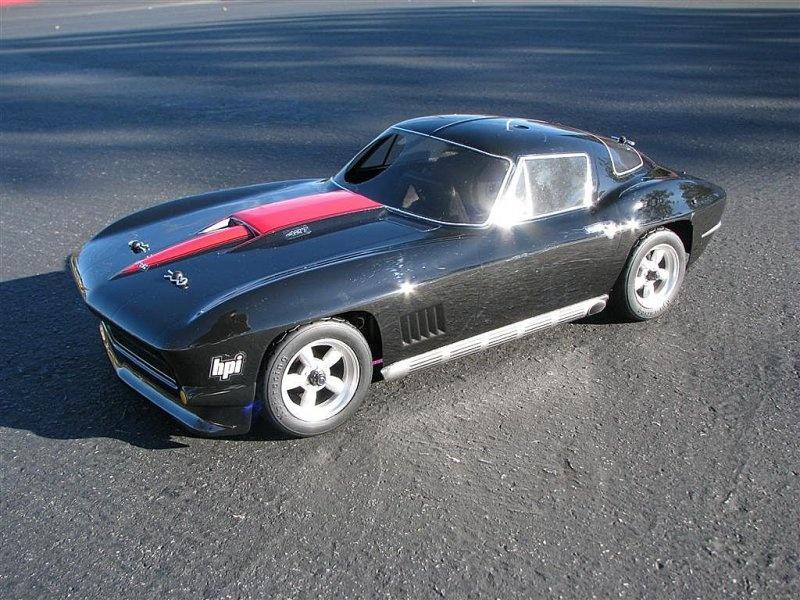 HPI Chevrolet Corvette 1967 Karosserie 200mm 1:10
