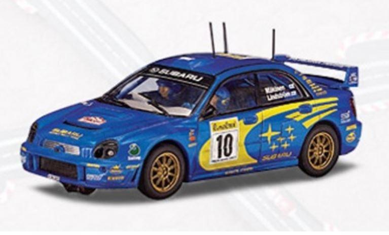 AutoArt Subaru Impreza WRC 2002 Mäkinen/Lindström #10 Monte