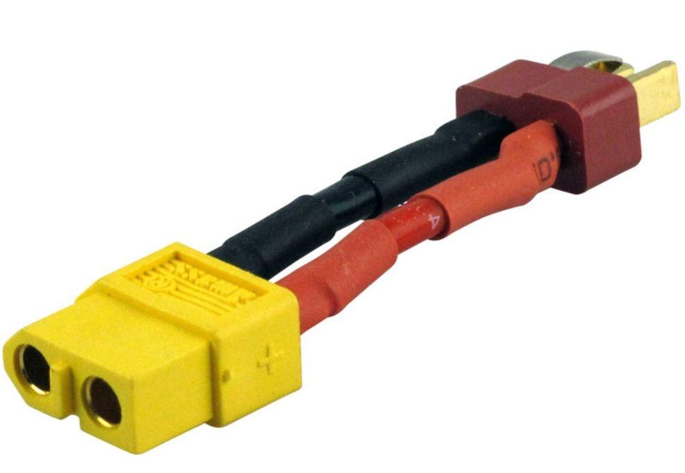 Adapter kompatibel m.XT60 Buchse <=>Deans Stecker