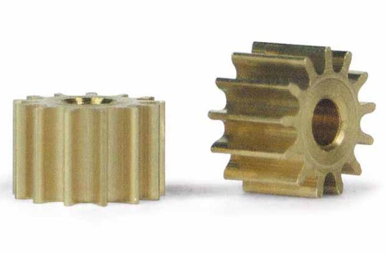 Slot.It 2x Motorritzel PAS 6,5mm 13 Zähne für 2,00mm,