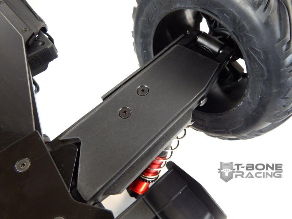 T-Bone Racing Rear Flat A-Arm Skids - Arrma Kraton