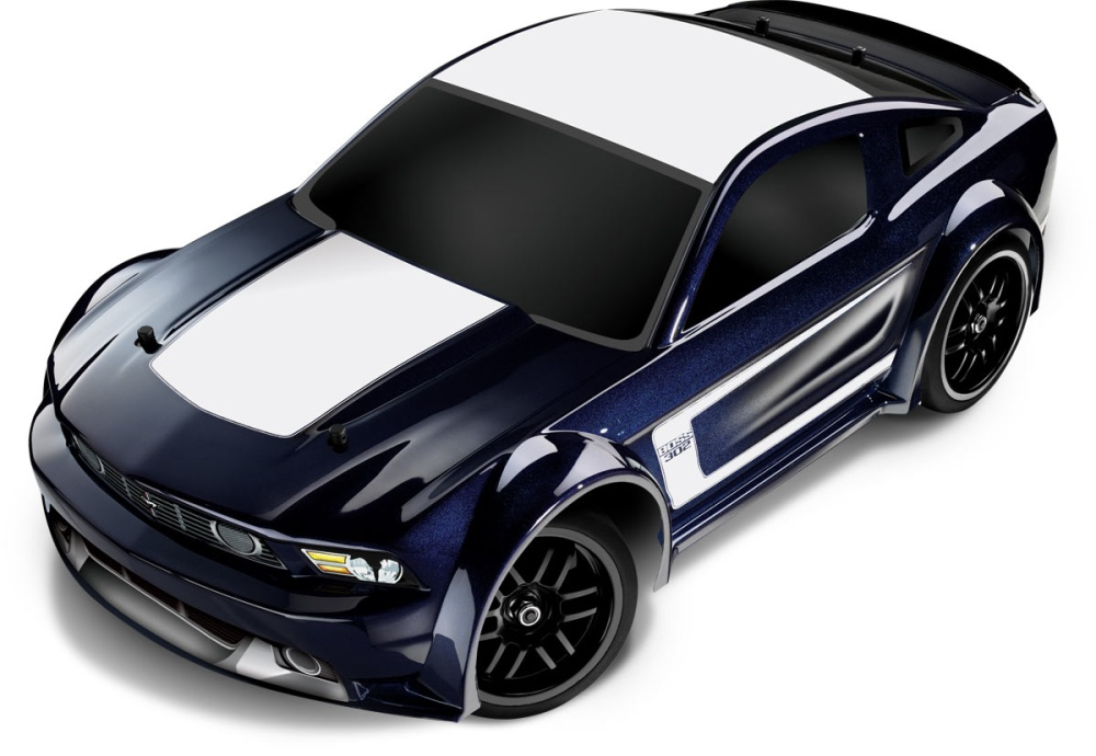 traxxas ford mustang boss 4wd brushed rtr 1 16 modellbau. Black Bedroom Furniture Sets. Home Design Ideas