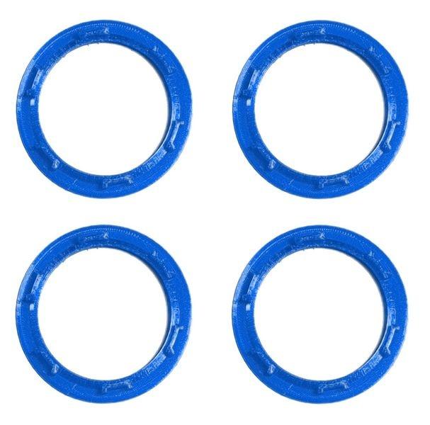 JS-Parts Felgenringe ultraflex für Traxxas Maxx blau
