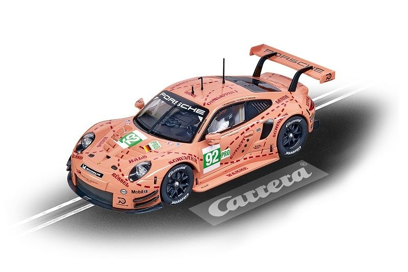 Carrera Digital 124 Porsche 911 RSR #92 Pink Pig Design
