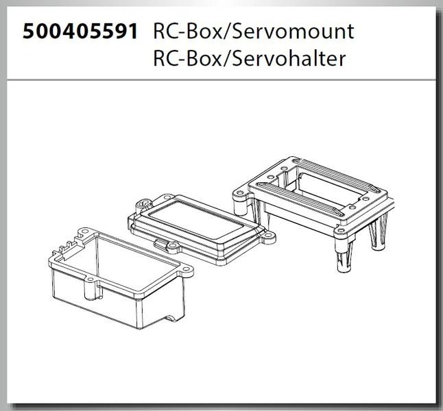 Carson Virus Pro 4.0 Truggy BL RC-Box
