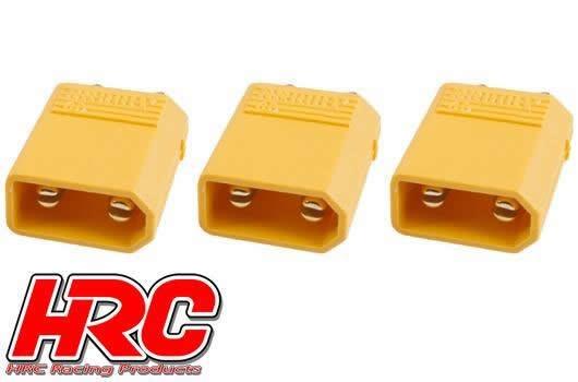 HRC Racing Stecker - Gold - XT30 - männchen (3 Stk.)