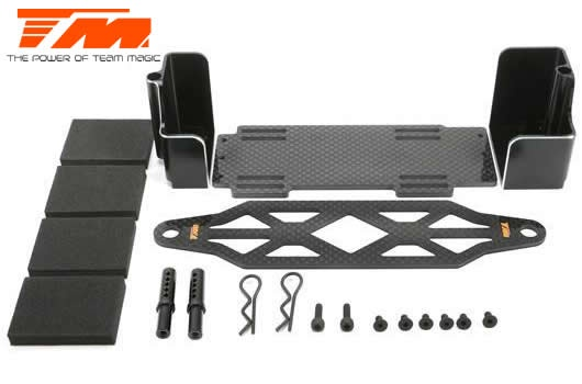Team Magic Option Part - E5 / E5HX - Aluminium and Graphite