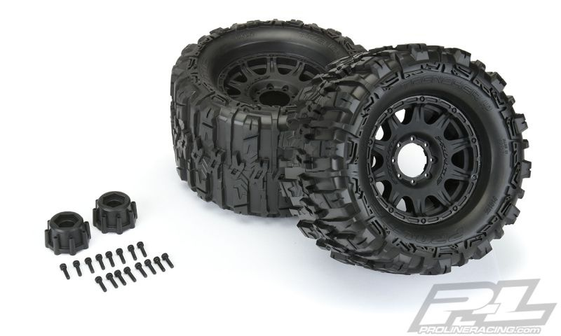 Pro-Line TRENCHER BELTED 3.8Zoll auf Raid-Felge 8x32