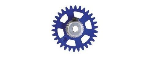 NSR SW 3/32 Soft Plastic Gear/Zahnrad 30T w/alu hub