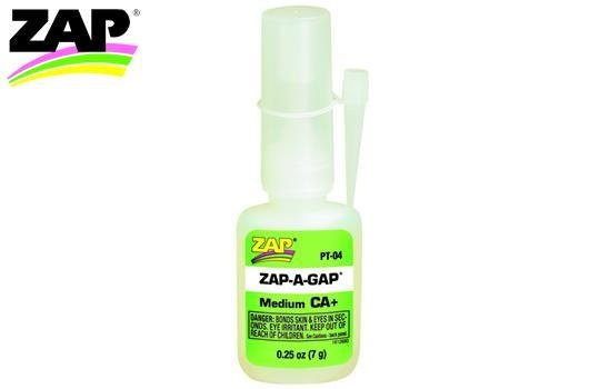 Zap Kleber - ZAP-A-GAP - CA+ Medium - 7g