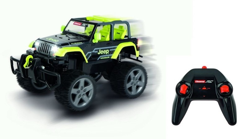 Carrera RC JEEP[R] Wrangler Rubicon green 2.4GHz RTR 1:16