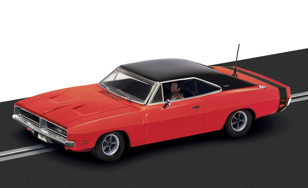Scalextric Dodge Charger 1969 rot HD