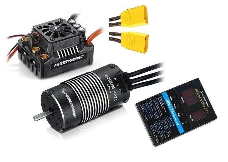 Hobbywing Ezrun MAX8 Combo mit SL-4247-2200kV