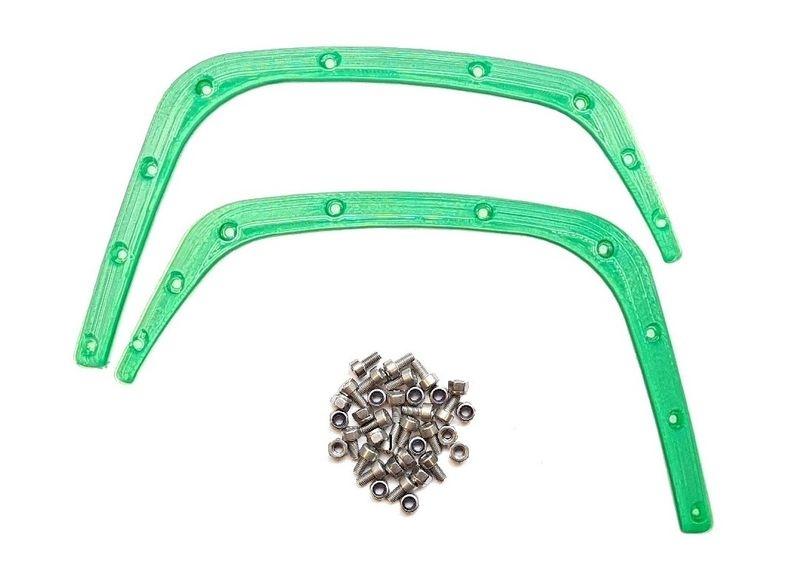 JS-Parts Fender/ Kotflügel für Traxxas X-Maxx hinten grün