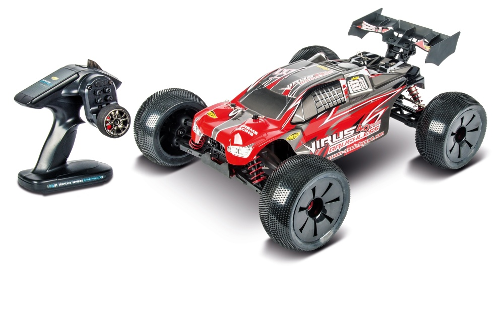 Carson Virus Pro 4.0 Truggy BL 2.4GHz RTR 1:8
