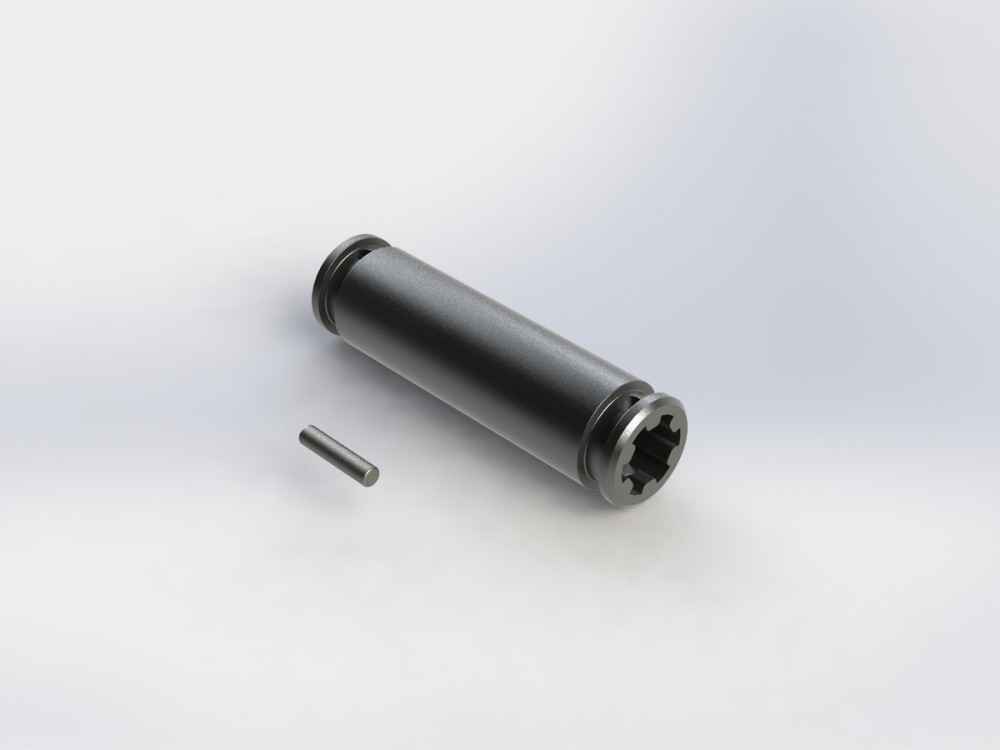 Arrma SLIDER ANTRIEBSWELLE 41mm (DUNKELGRAU) (1Stk)