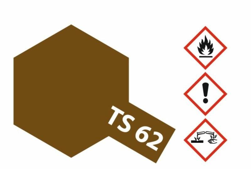 Tamiya Acryl-Sprühfarbe TS-62 NATO Braun matt 100ml