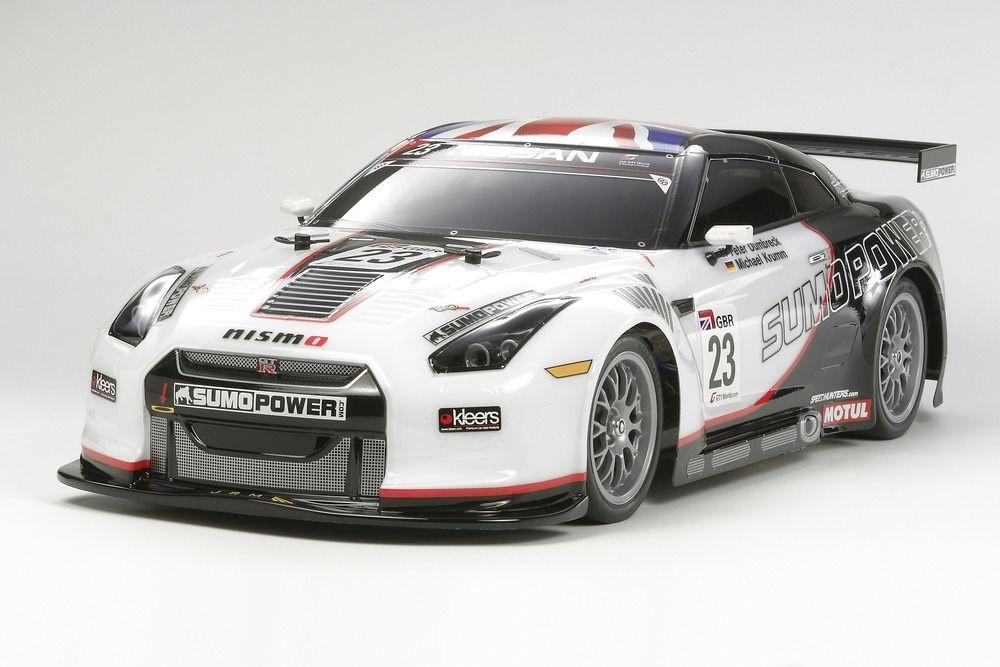 Tamiya Sumo Power Nissan GT-R TT-01E Bausatz 1:10