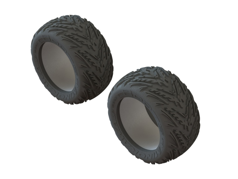 Arrma RC dBoots Minokawa LP tires and inserts (2)