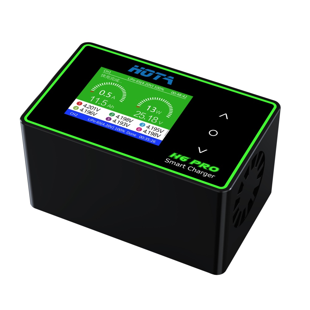 HOTA H6 Pro Smart Charger AC/DC 700W 26A LCD Farbdisplay