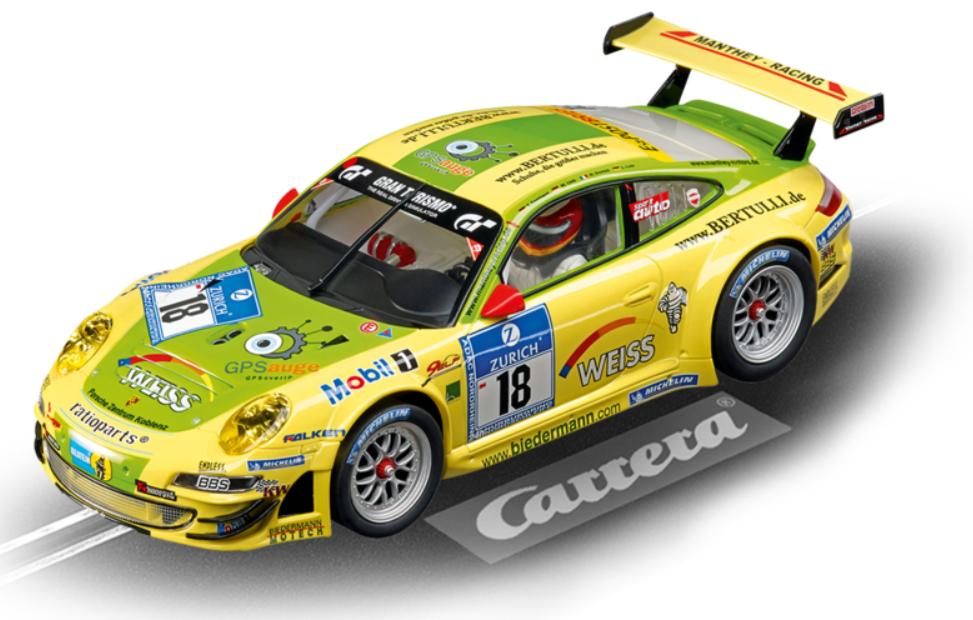 Carrera Digital 124 Porsche GT3 RSR Manthey Racing, No.18
